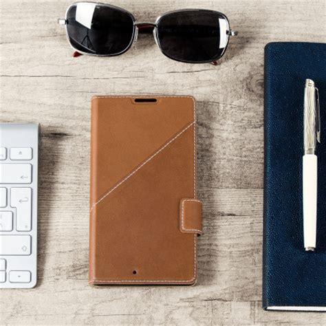 mozo thin flip case for microsoft lumia 950 mozo microsoft lumia 950 xl genuine leather wallet flip