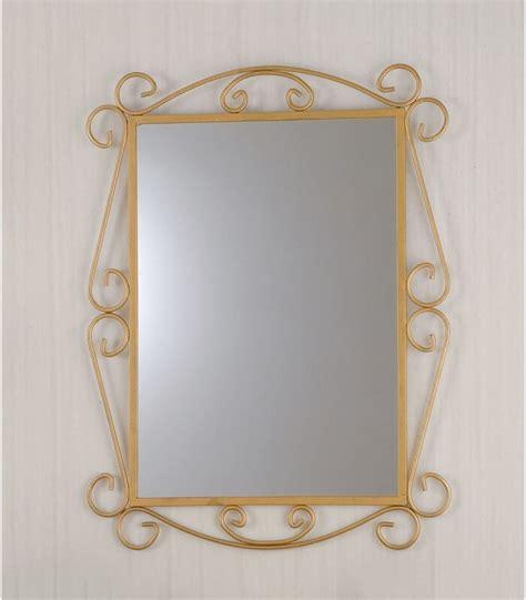specchio con cornice specchio da parete con cornice in ferro battuto