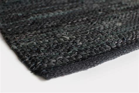 aspegren teppich teppich design aspegren leather black 70x200aspegren
