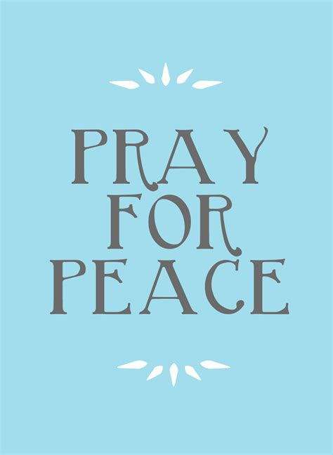 Holiday Crafts On Pinterest - praying for peace in memorium