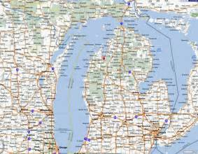 Michigan Search Highway Map For Michigan Search Engine At Search