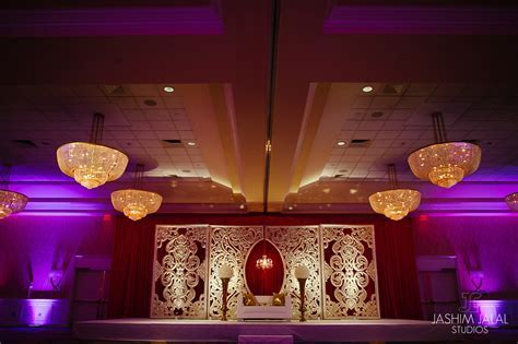 Tarang and Alka Indian Wedding Engagement Decor Marriott