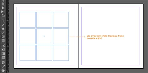 indesign creating a grid indesign guides frames and image placing for wedding