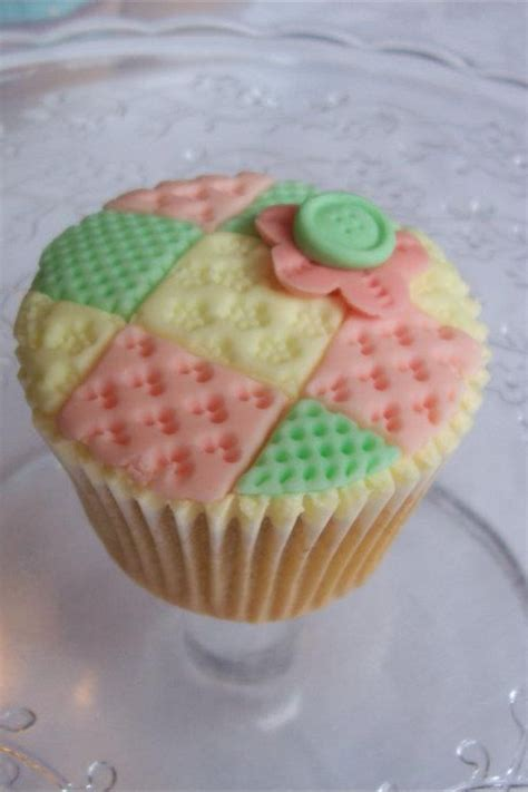 Quilted Cupcake by 76 Best Cupcake Versieringen Images On Sewing