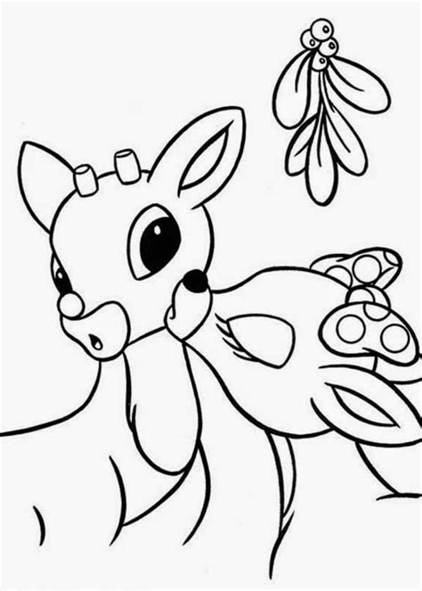 rudolph the nosed reindeer coloring pages the site santa s reindeer coloring pages