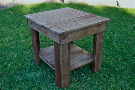 pallet wood end table pallet end table rustic end table primitive by