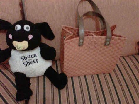 Keranjang Anyaman Plastik handmade tas anyaman plastik dan keranjang anyaman plastik
