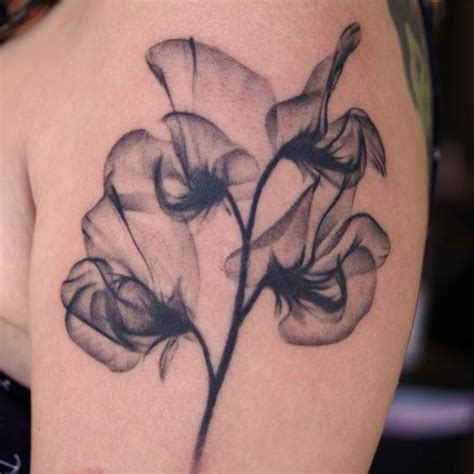 35 X Ray Flower Tattoos That Will Take Your Breath Away | 35 x ray flower tattoos that will take your breath away