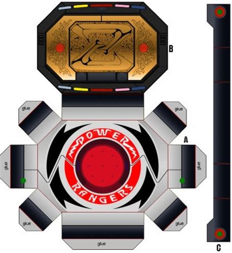 How To Make Power Rangers Morpher With Paper - paper folding by raza5 on deviantart