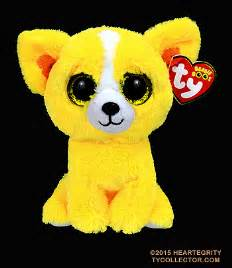 ty beanie boos boo goldie yellow 6 quot plush pictures pin