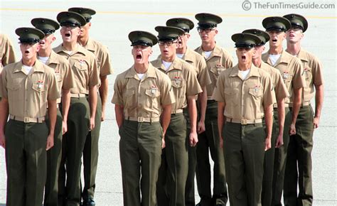 facts  marine boot camp  parris island