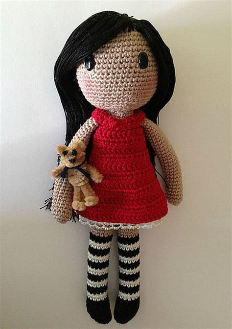 free crochet pattern cute dolls create a special friend for your child with these adorable