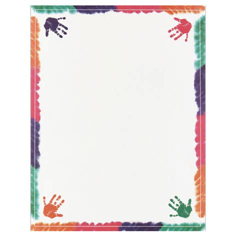 How To Make Paper Borders - colorful on border paper your paper stop