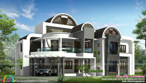 round house designs plans half round roof unique house design kerala home design and floor plans