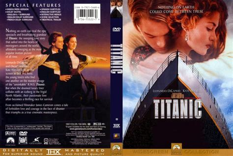 film titanic dvd titanic movie dvd custom covers 211titanic cstm1 hires