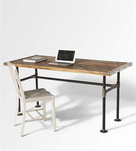 reclaimed wood writing desk the lupita reclaimed wood desk home furniture lumber
