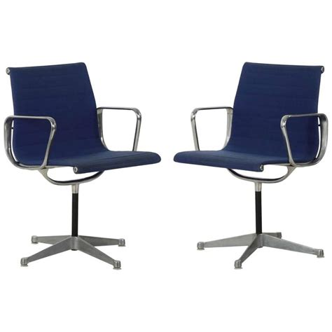 Pair Of Charles Eames For Herman Miller Ea108 Swivel Eames Swivel Chair