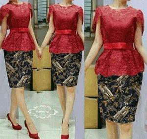 Lg Dress Natushadress Brukat baju dress kebaya modern cantik terbaru murah