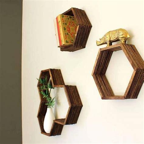 cara membuat hiasan dinding dari foto cara membuat hiasan dinding buatan sendiri mini hexagonal