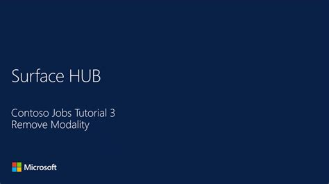 tutorial github italiano modality design and develop apps for surface hub channel 9