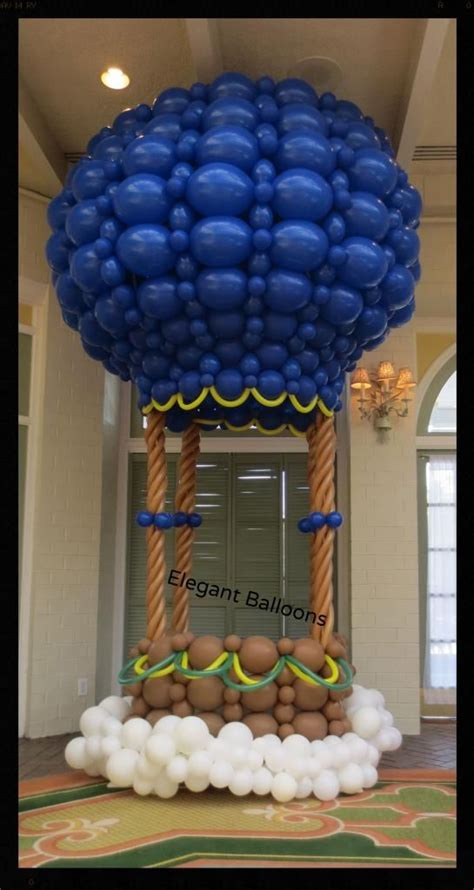 Air Decorations For A by Air Balloon Air Balloon And Balloons On