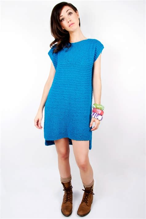 pattern for simple knit dress tunic and dress knitting patterns in the loop knitting