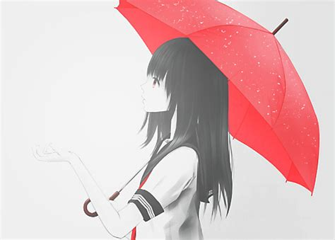 Anime Umbrella by Rate Limit Exceeded