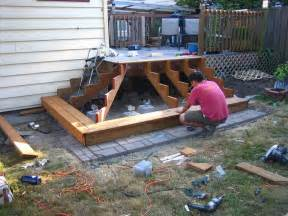 How To Build Patio Stairs by How To Build Deck Stairs Basic Rules And Useful Ideas