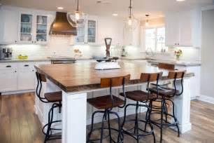 White Kitchen Wood Island by Our 50 Favorite White Kitchens Kitchen Ideas Amp Design
