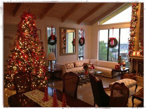 decoraci 243 n navide 241 a la sala de la casa 225 rbol de