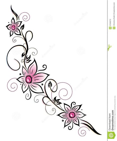 tattoo borders designs pin flower borders design hd on page floral