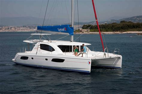 catamaran boat of the year sunsail 444 awarded boat of the year by cruising world