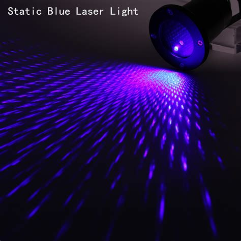 Landscape Blue Laser Projector Outdoor Xmas Led Lights Laser Projector Lights