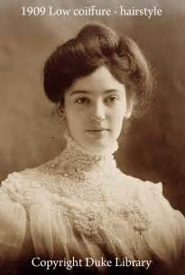 hairstyles in the the 1900s women show the latest pompadour hairstyles 1909 glamourdaze