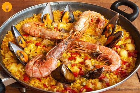 recetas de cocina paella de marisco paella mixta de marisco y pollo receta f 225 cil