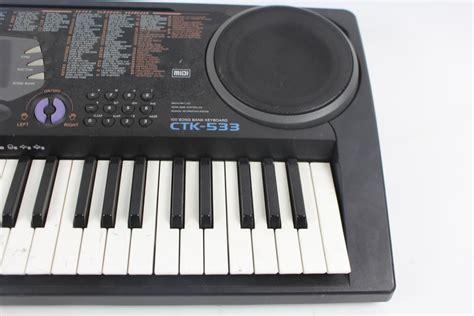 Keyboard Casio 1 Jutaan casio ctk 533 keyboard property room