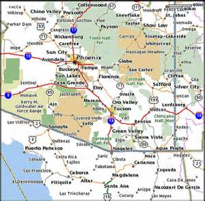 Arizona New Mexico Map by Arizona Mexico Map Flickr Photo Sharing