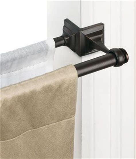 diy double curtain rod 25 best ideas about double curtain rods on pinterest