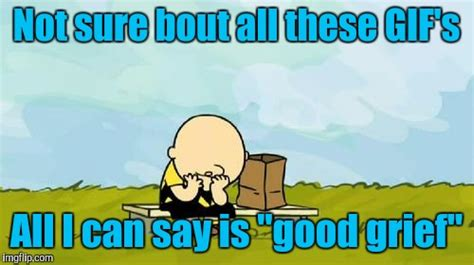 Good Grief Meme - depressed charlie brown imgflip
