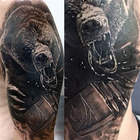 bear tattoo designs for men tattoos for ideas and inspiration for guys
