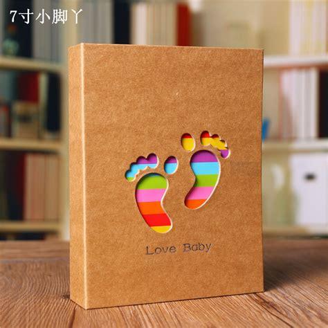 Handmade Baby Photo Album - 2016 lovely 100 sheets child baby photo album gift