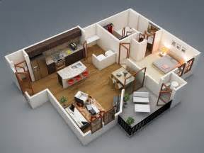 One Bedroom House Plans 1 Bedroom Apartment House Plans