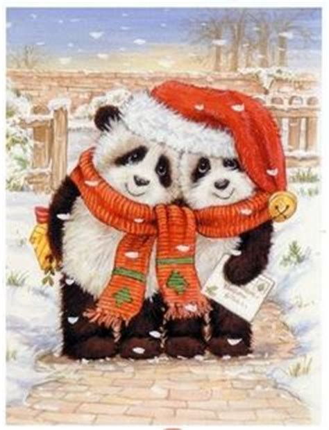 cute christmas panda bear cute cartoon panda cute cartoon panda bears clip art