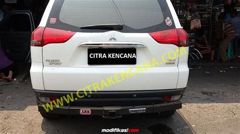 Tanduk Depan Land Pajero Sport Arb baru murah pengaman belakang stainless pajero