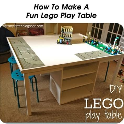 how to make a lego bench how to make a fun lego play table http www