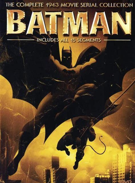 Serial Anime City mondays batman 1943 serial comicattack