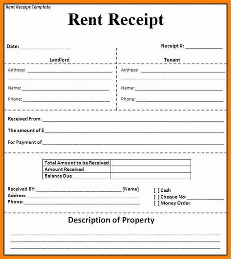 Rent Receipt Letter Exle 8 Rental Receipt Template Uk Forklift Resume