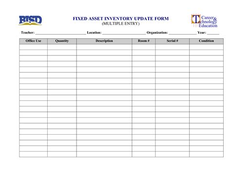update cards template high quality fixed asset and inventory update form sheet
