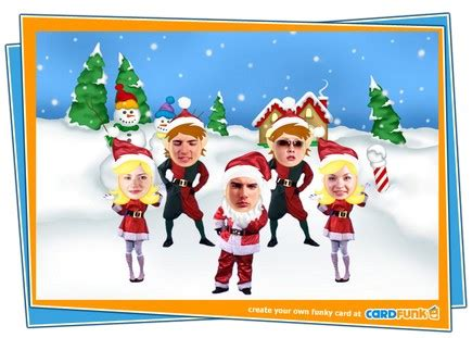 photoshop card templates place faces into santa create and send cards via cardfunk
