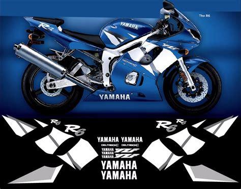 Yamaha Sticker Pack yamaha r6 sticker pack calcamonias 699 00 en mercado